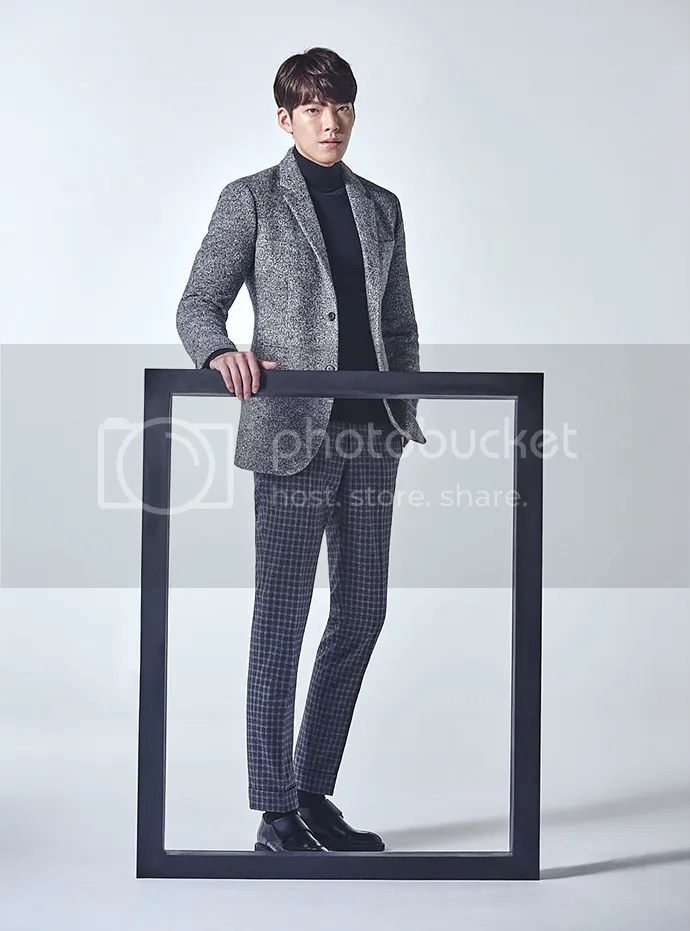 Kim Woo Bin 21 para SIEG, otoño/invierno 2015-2016