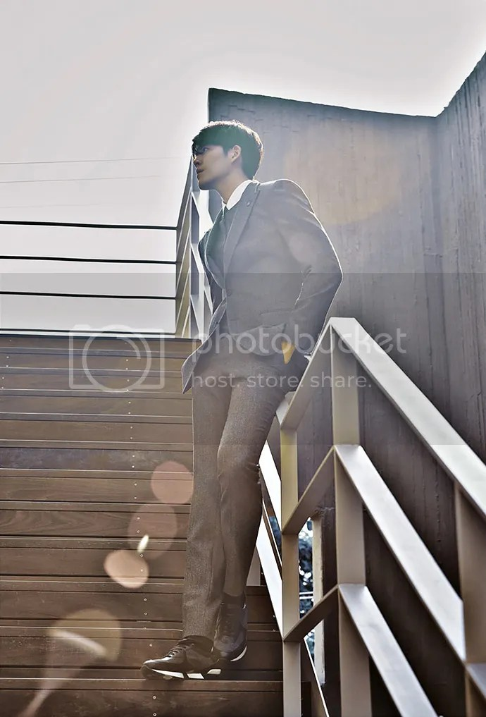 Kim Woo Bin 26, para SIEG, otoño/invierno 2015-2016