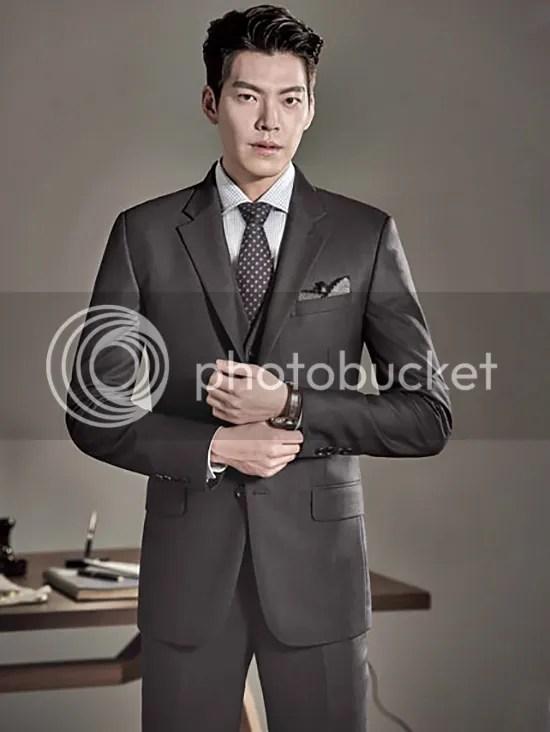 Kim Woo Bin 27 para SIEG, otoño/invierno 2015-2016