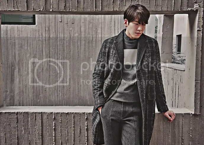 Kim Woo Bin 2, para SIEG, otoño/invierno 2015-2016