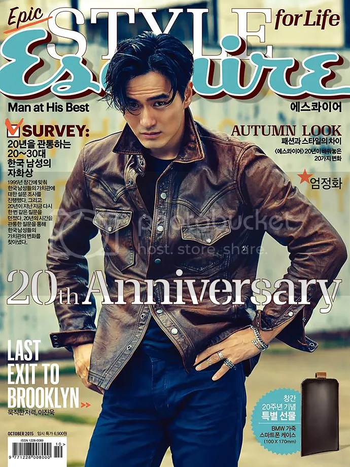 Lee Jin Wook para Esquire. 4