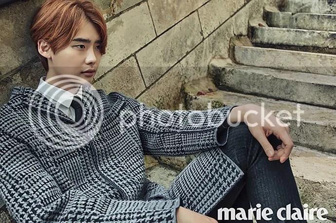 Lee Jong Suk para Marie Claire Corea, noviembre del 2015. 2