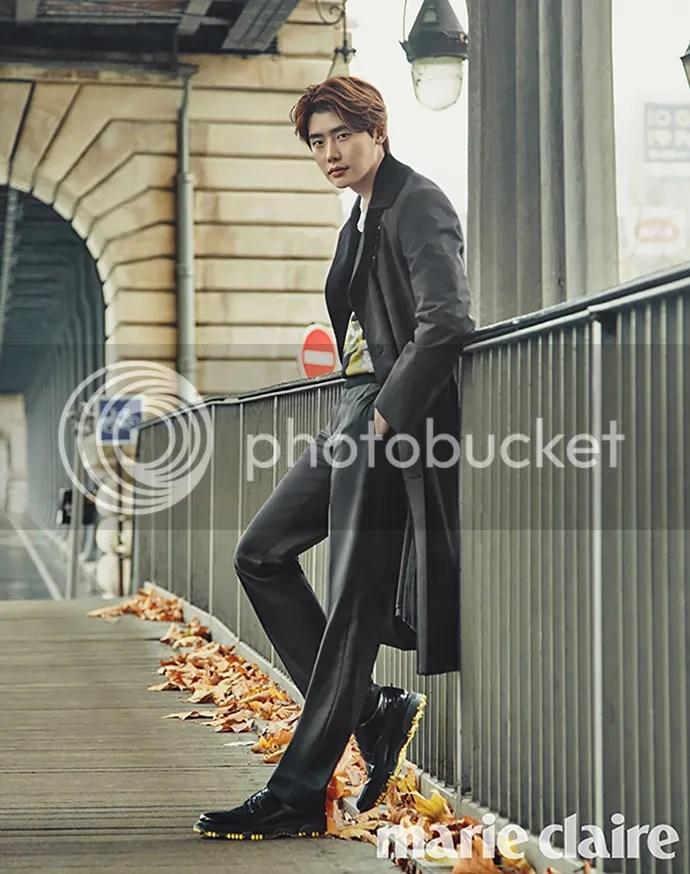 Lee Jong Suk para Marie Claire Corea, noviembre del 2015. 6