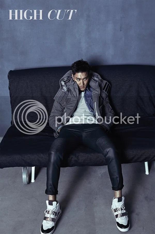Siwon para High Cut, noviembre del 2015. 2