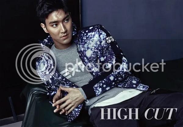 Siwon para High Cut, noviembre del 2015. 5