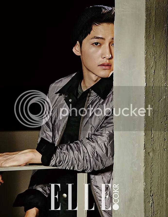 Song Joong Ki para Elle Corea. 13