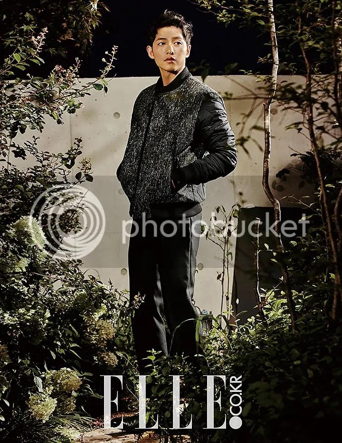 Song Joong Ki para ELLE. 7