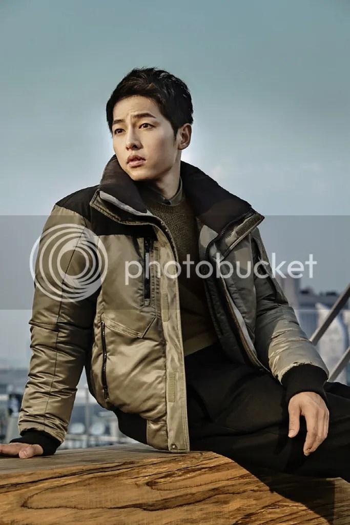 Song Joong Ki para ELLE. 9