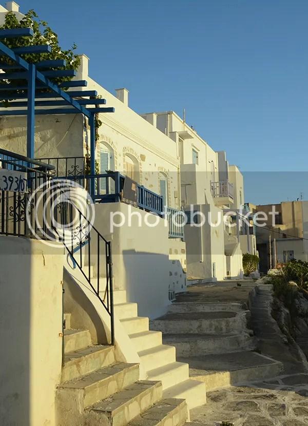 Naoussa Paros houses