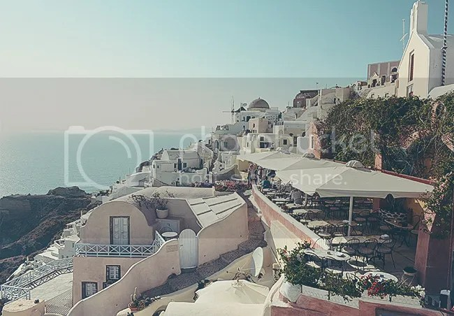 Restaurante de Oia, Santorini