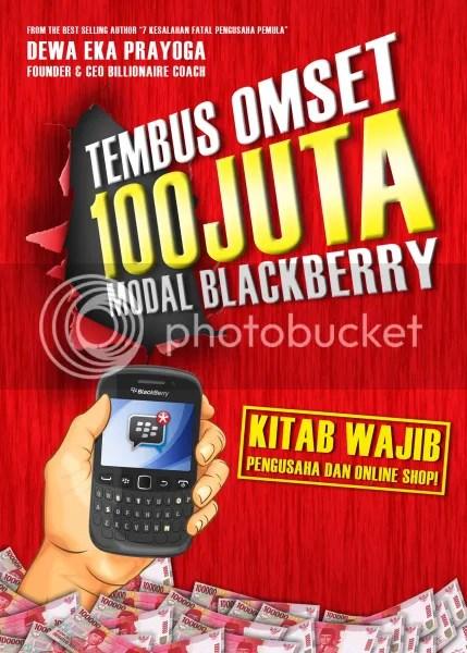 Buku Tembus Omset 100 Juta Modal Blackberry