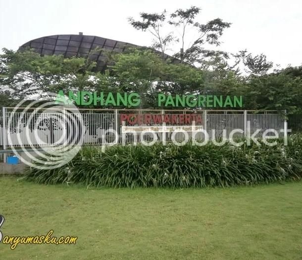 Taman Kota Andhang Pangrenan Purwakerta