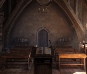 WingFox Magical Classroom Scene Creating for Games