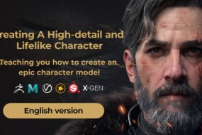 WingFox  Creating an Advanced Cinematic Character – Vagrant Knight
