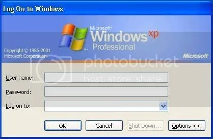 windows xp no login control alt delete ctrl alt del
