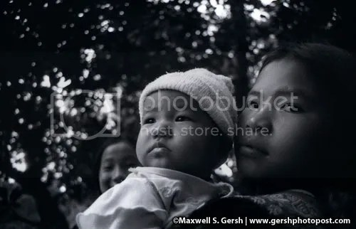 girl with baby in thailand www.gershphoto.com