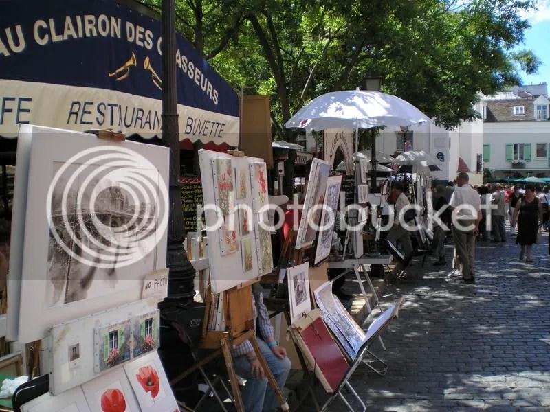 Monmartre painters