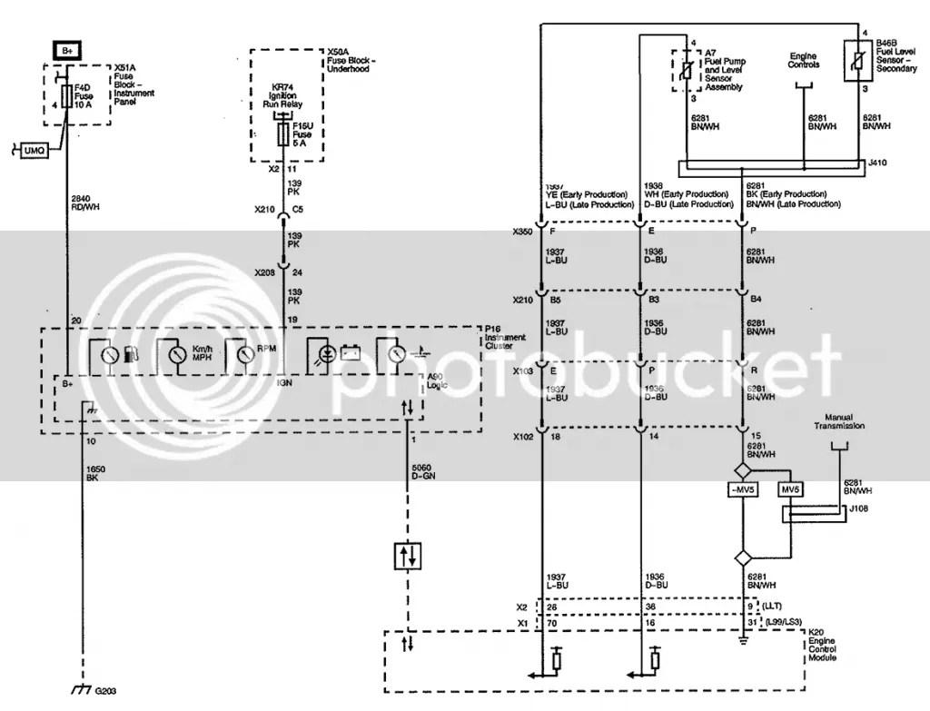 Gen 5 Wiring Schematics Amp Cluster Pinouts
