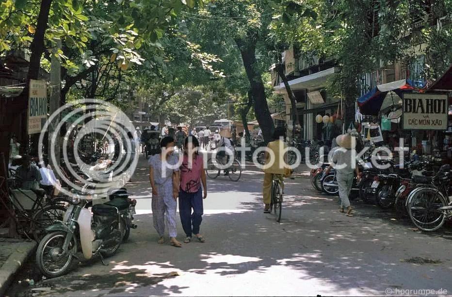 Hà Nội - Old Town: đường phố Wooded