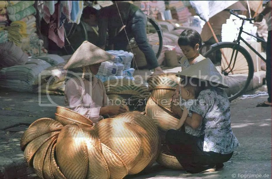 Hà Nội-Altstadt: Giỏ Merchant