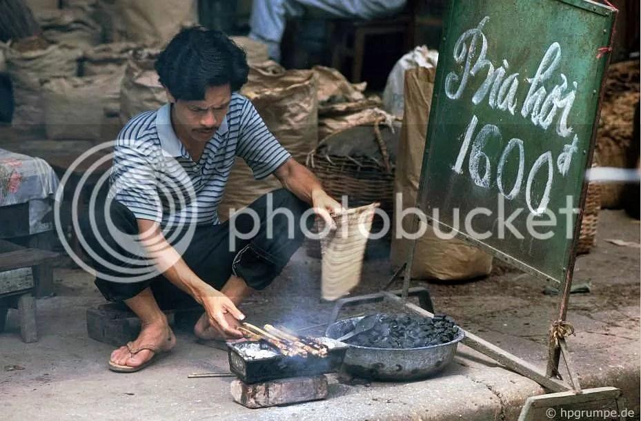 Town Hà Nội: Đường địa phương, Man tại Grill