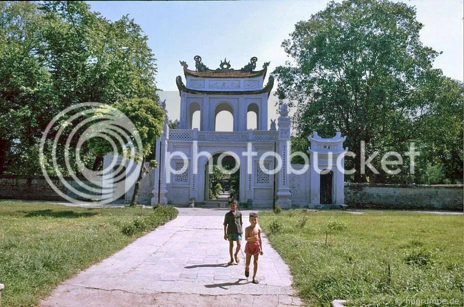 Hà Nội - Văn Miếu: lối vào