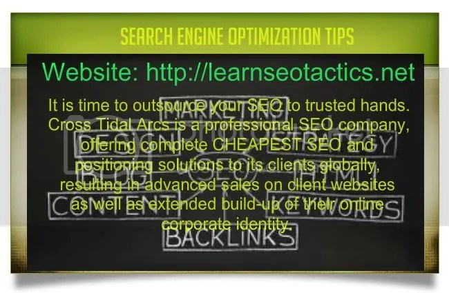 website search engine optimization test