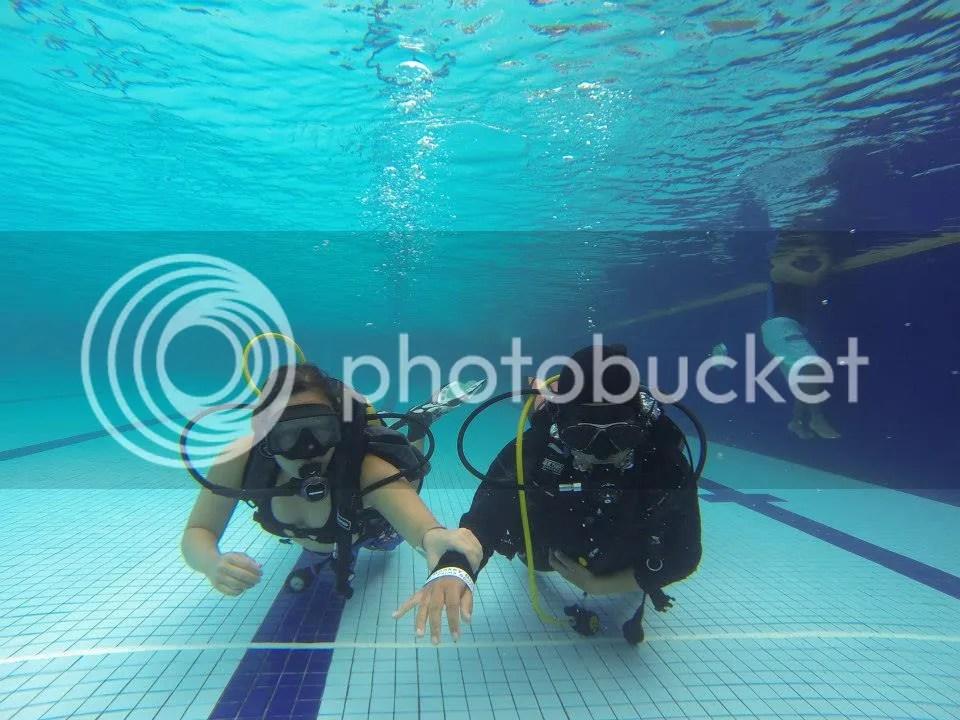 Scuba as A blind Diver