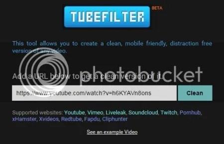 COME AVERE UNA VERSIONE PULITA DI UN VIDEO DI YOUTUBE