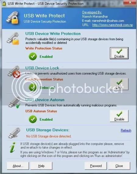 COME PROTEGGERE UNA CHIAVETTA USB DALLA SCRITTURA