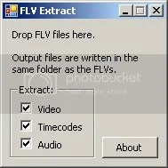 COME ESTRARRE AUDIO E VIDEO DA UN FILE FLV