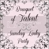 A Bouquet of Talent Linky Party Button