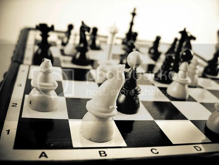 Ajedrez denotando estrategia como negocio