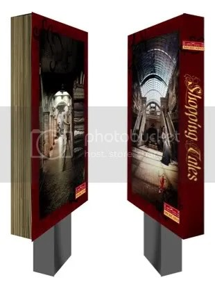 Fairytale Book Light Boxes, Once upon a time� There was a fantastic place where people came from far far away to step into a magical shopping experience. This is not a marketing campaign for a Mercato in Dubai. It is a fairytale shopping adventure by DFBothma.