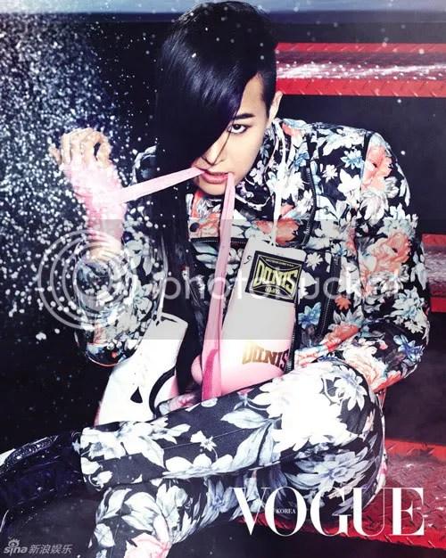 Hình ảnh Big Bang trên tạp chí Vogue Hàn Quốc số tháng 3