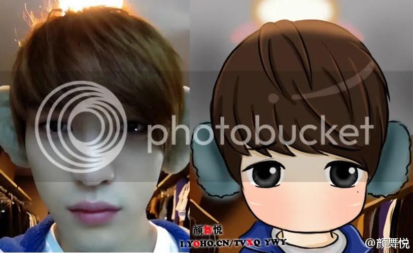 Những hình ảnh dể thương về gương mặt phình ra của Jeajoong