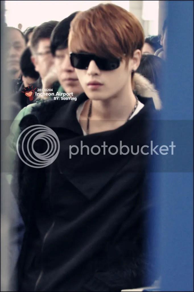Nhưng hình Jaejoong (JYJ) sân tại sân bay Thổ Nhĩ Kỳ.