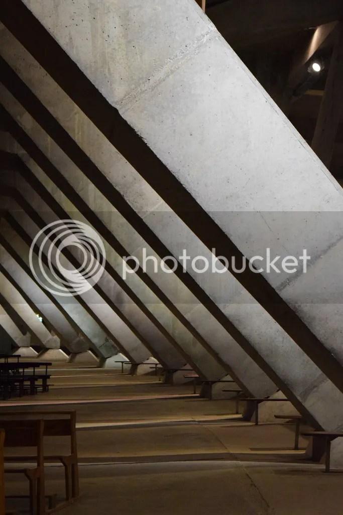 Underground Basilica in Lourdes, France