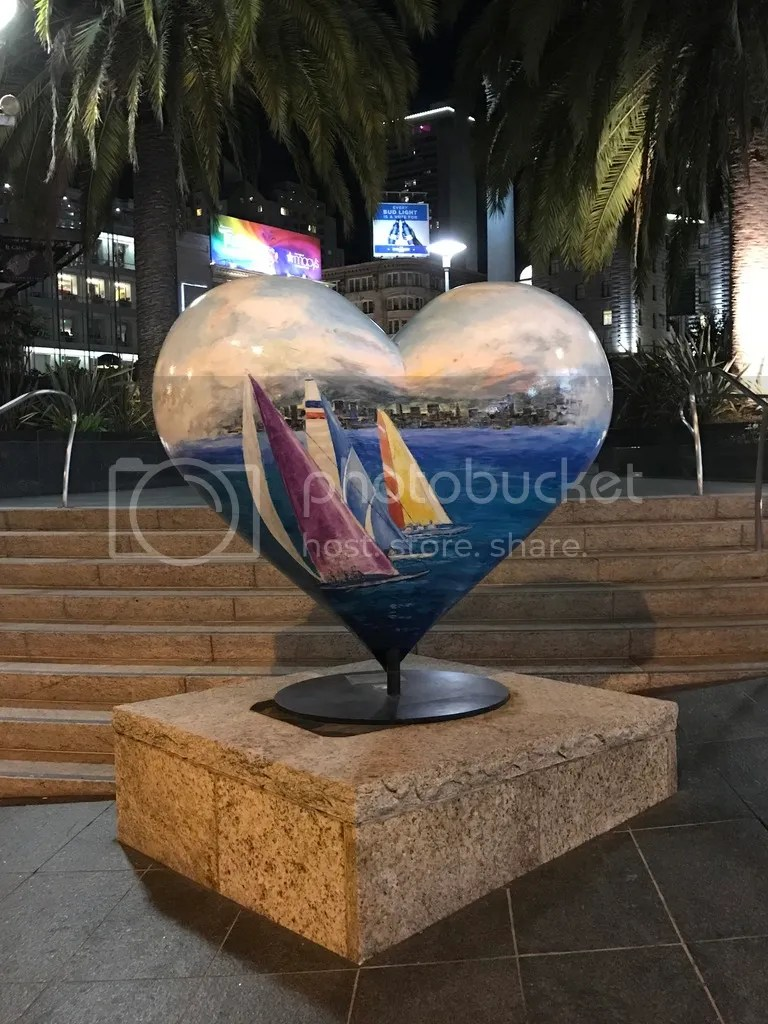 One of the Hearts in Union Square