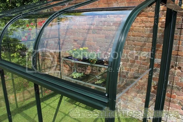 Halls Silverline Acrylic Curved Eaves
