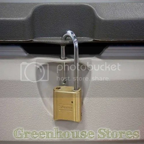 lifetime storage box padlock