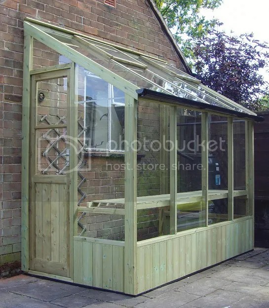 Swallow Finch 6x4 Lean To Greenhouse