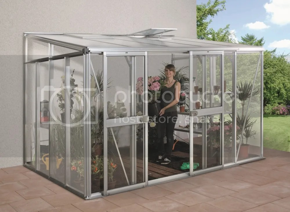 vitavia helena lean to greenhouse