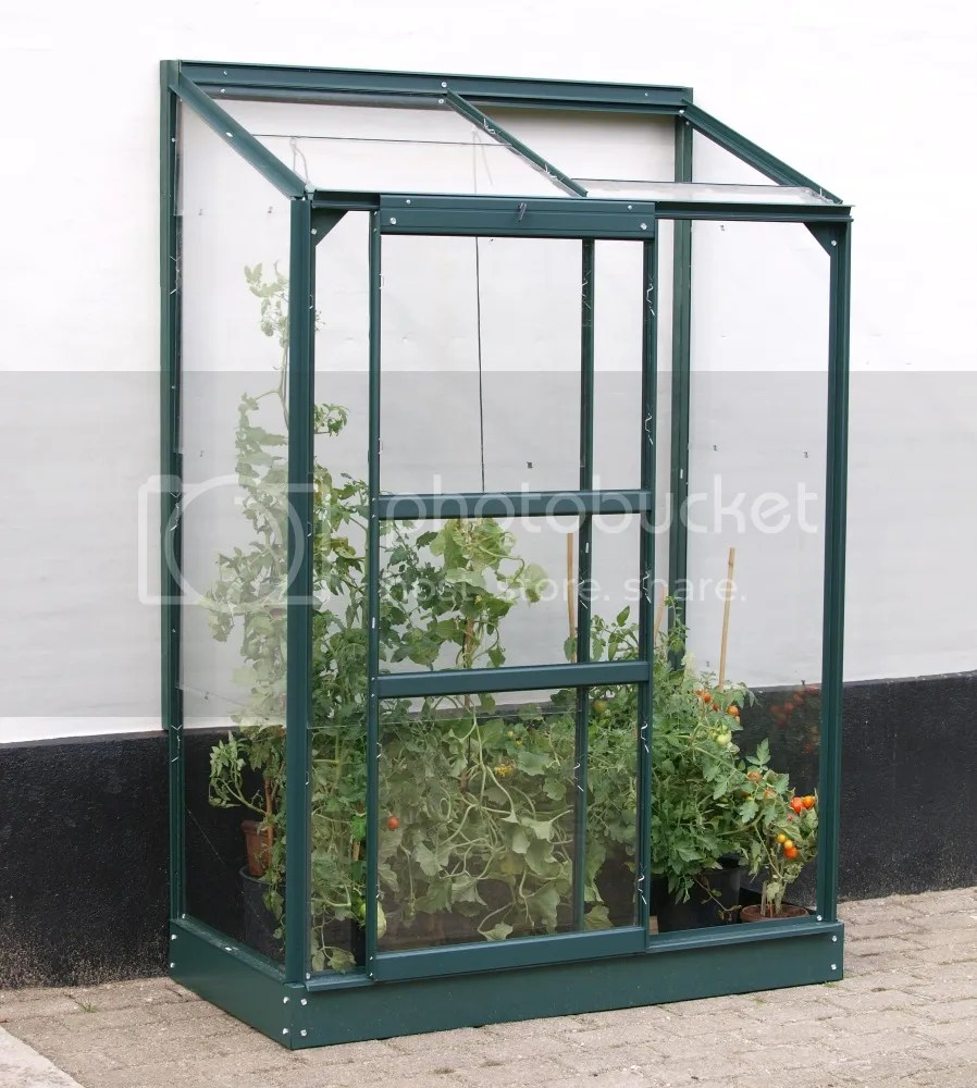 vitavia ida 900 lean to green greenhouse