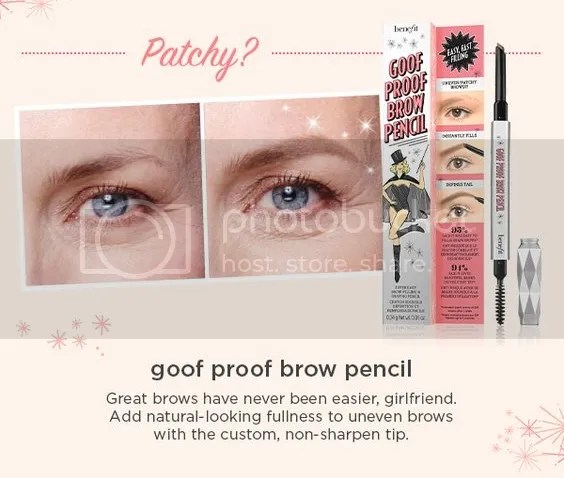 Goof Proof brow