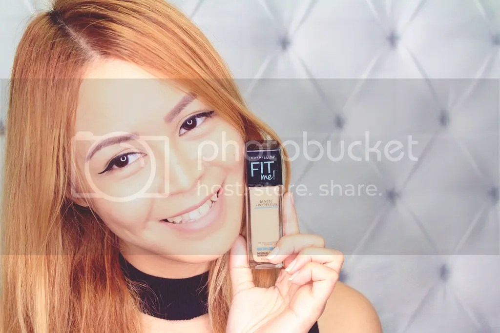 The new Fit Me Matte + Poreless Foundation from Maybelline New York | Ayesha Heart