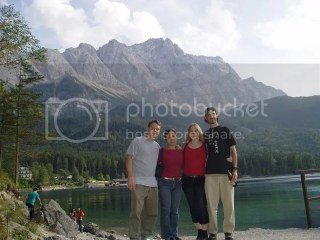 the Eibsee, down by the Zugspitze