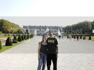 Petra and I @ Herrenchiemsee in 2003