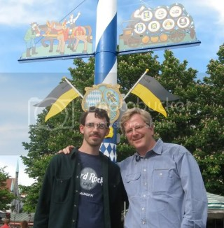Rick Steves and I in Munich