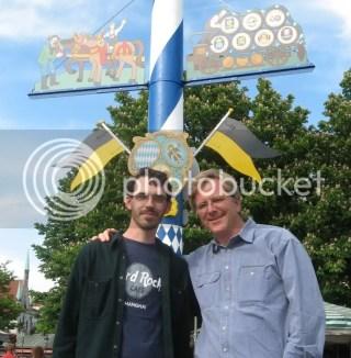Rick Steves and I in Munich